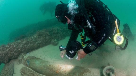 Maritime archaeologists found the wreck off the coast of Cascais, near the Portuguese capital Lisbon.