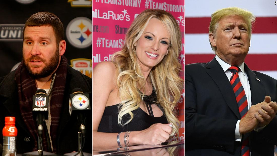New book excerpt: Trump urged Roethlisberger to escort Daniels to room instead of bodyguards