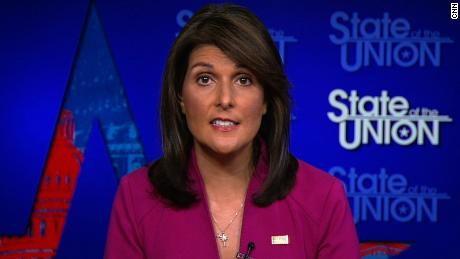 Haley contradicts Giuliani on Iran