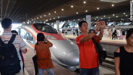 A controversial high-speed rail link between Hong Kong and China opened to the public on September 23, 2018.