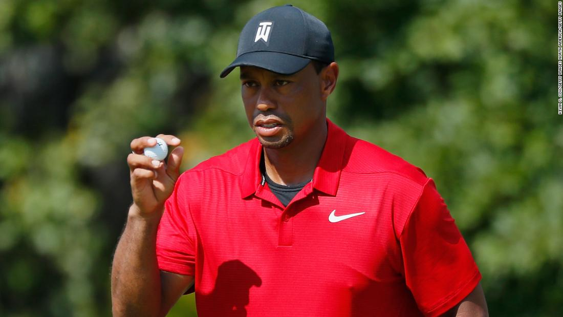 Tiger Woods won on the PGA Tour for the first time since August 2013 with  triumph e4a28ceaad9d