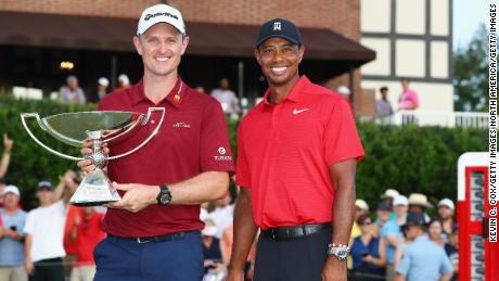 Justin Rose fended off competition from Tiger Woods to be crowned 2018 FedExCup champion.