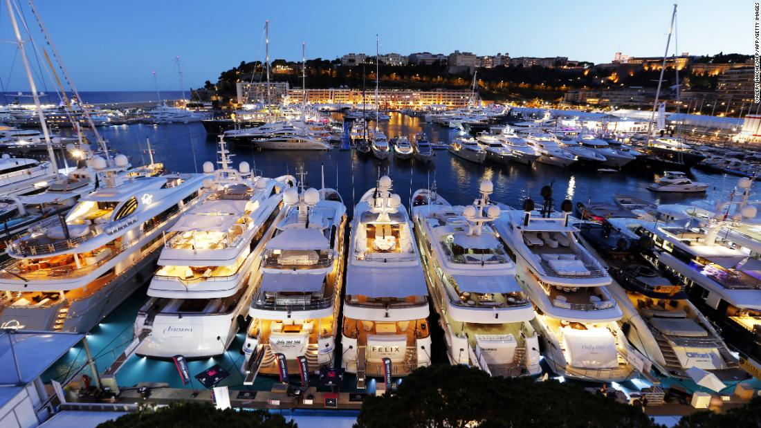 As the second smallest country in the world, Monaco has hosted the biggest, most prestigious and important event in the yachting calendar for the past 28 years -- and it's garnered quite a reputation: the Monaco Yacht Show. We take a look at some of the yachts on display this year.