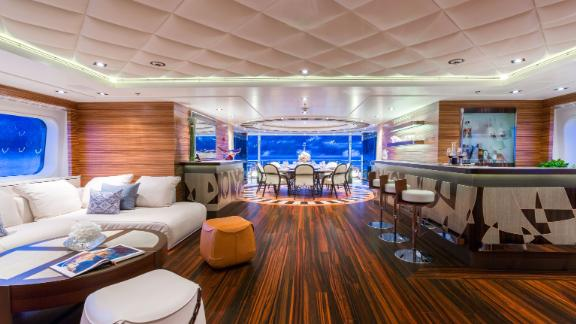 The yacht by Feadship was built in 2013 is on sale for $46.9M.