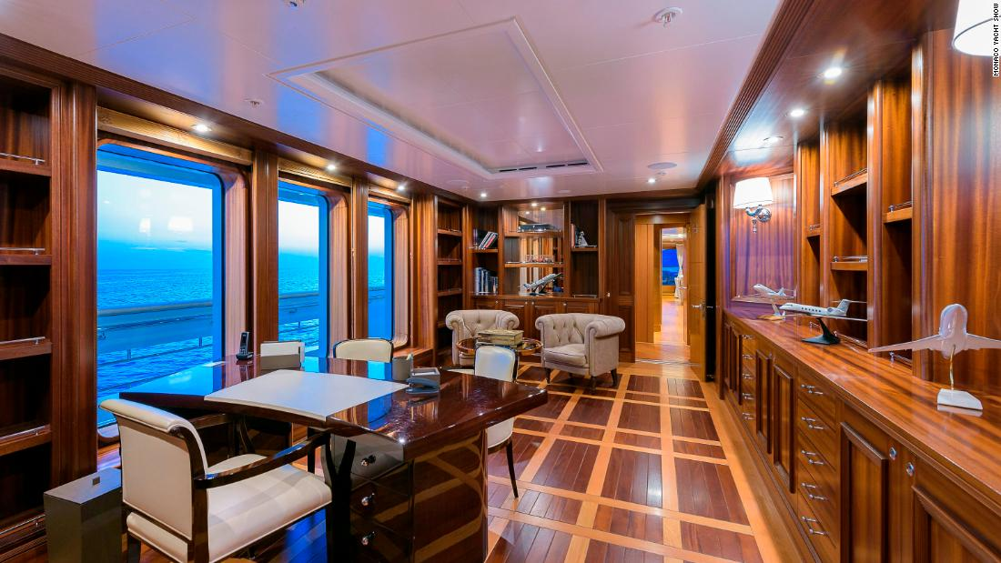 Boadicea also has a lavish interior and can sleep up to 16 guests.