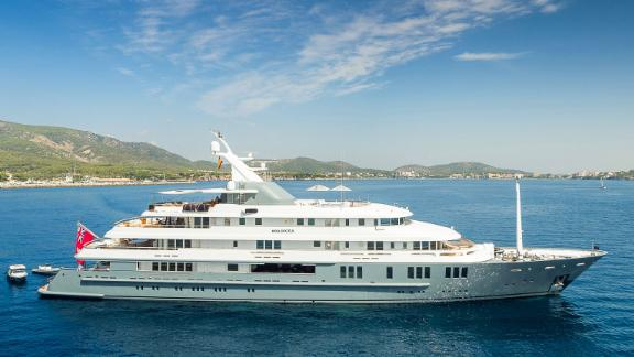 Built in 1999, Amels' 251ft Boadicea was recently refitted in 2017.