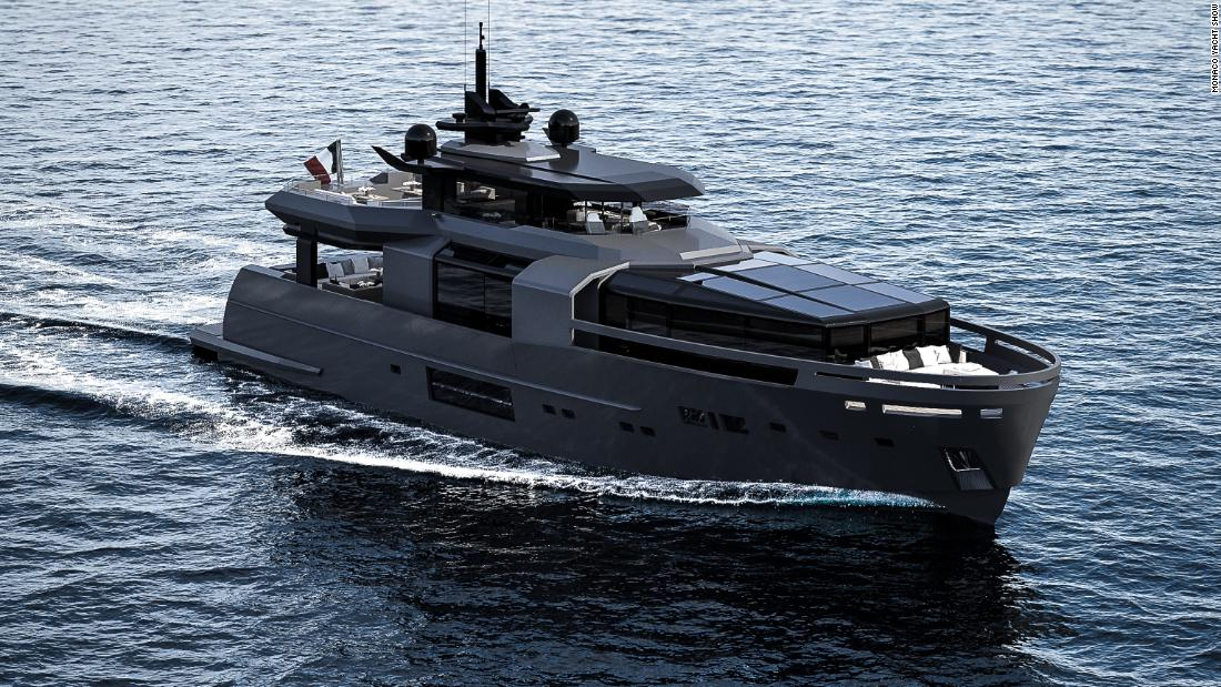 Top 10 Biggest Yachts On Show In Monaco Cnn