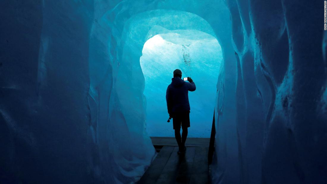 <strong>Valais, Switzerland:</strong> There's a 100-meter ice tunnel and ice chamber inside Switzerland's Rhone Glacier. It's cut fresh each year and the season runs from June to October. <br />