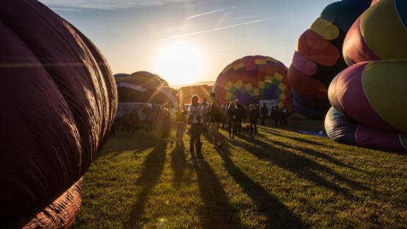 Reno, Nevada: The 37th Great Reno Balloon Race took place this year from September 7 to 9. More than 100 hot air balloons took to the sky in this annual event.