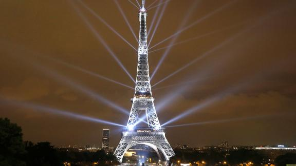 Paris: In September, designers Motoko Ishii and Akari-Lisa Ishii presented a two-day light show on the Eiffel Tower to celebrate the Japanese cultural season and 160 years of diplomatic relations between France and Japan.