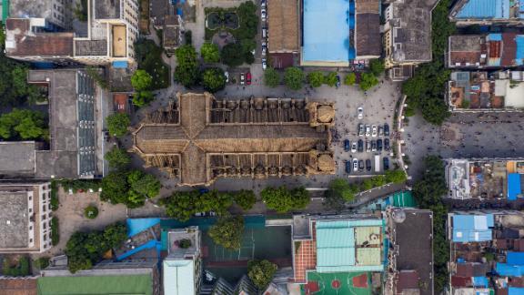 "Guangzhou, China: Sometimes known as the ""Notre Dame of East Asia,"" Guangzhou"