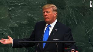 特朗普并没有期待'  他得到联合国的言论反应