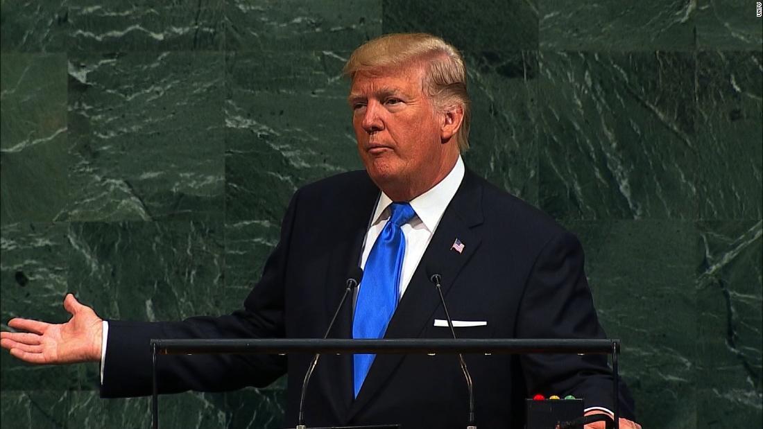 Trump 'didn't expect' UN speech reaction he got