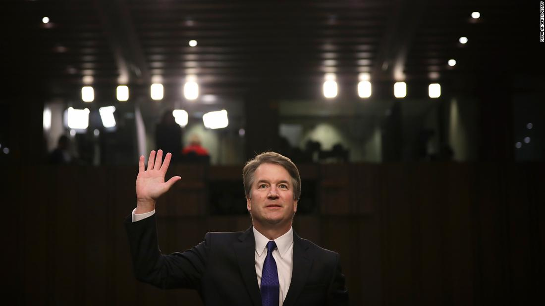 Bar Association drops review of Kavanaugh