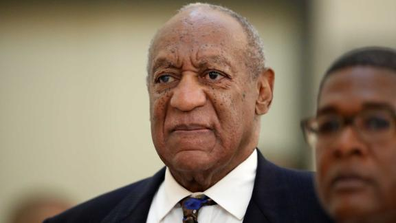 NORRISTOWN, PA - SEPTEMBER 24: Actor and comedian Bill Cosby returns to the courtroom after a break with his spokesman Andrew Wyatt at the Montgomery County Courthouse, during his sexual assault trial sentencing in Norristown, Pennsylvania, U.S. September 24, 2018. (Photo by David Maialetti/Pool/Getty Images)