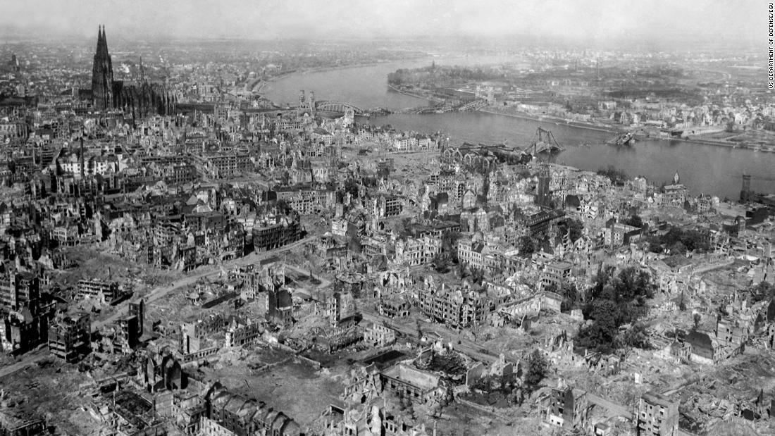 Shockwaves from WWII bombing raids reached the edge of space