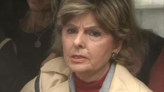 Attorney Gloria Allred speaks about the sentencing of comedian Bill Cosby on 9/25.