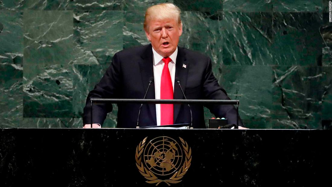 Donald Trump's worldview was laid bare at the UN -- and it should worry anyone who understands history