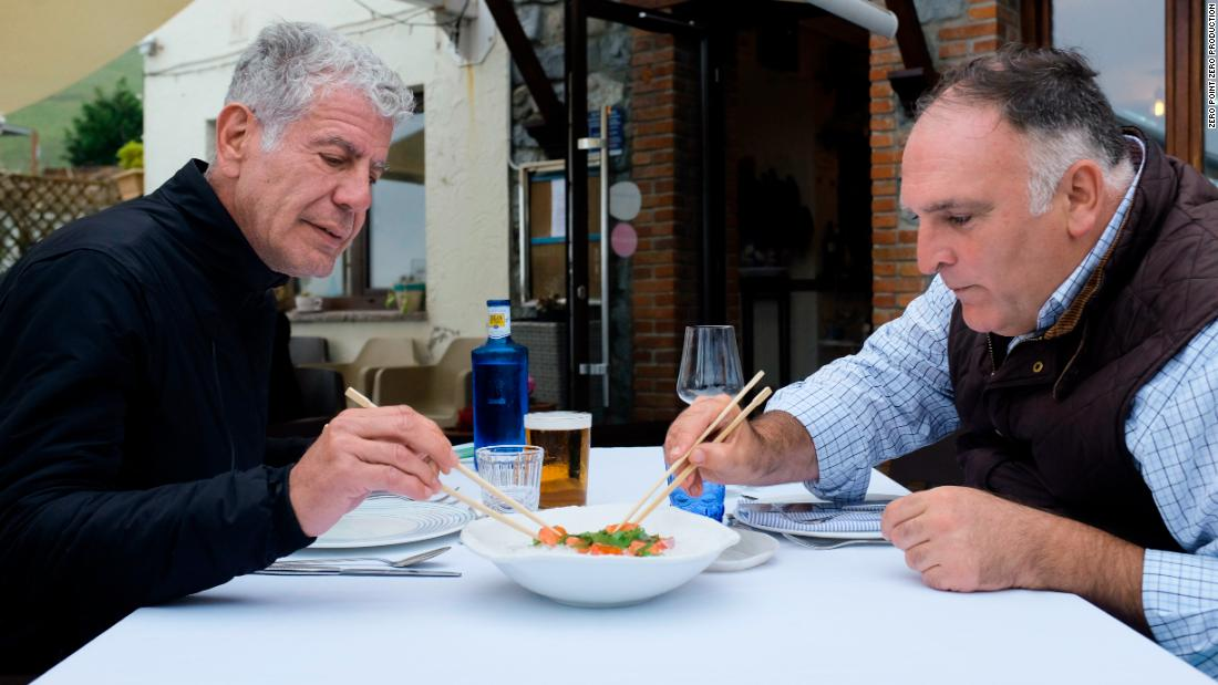 José Andrés memoir helps explain his deep bond with Bourdain