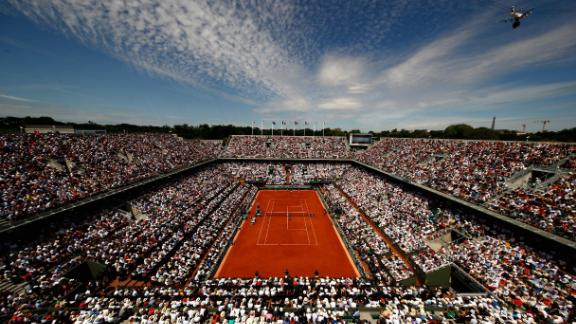 Just a short walk from the Parc de Princes is Roland Garros. The venue is home of the French Open, one of tennis' four annual grand slams. Court Philippe Chatrier, pictured here, is the main stadium which will host the tennis final in 2024. Work is underway to build a retractable roof, a brand new showcourt in the adjacent botanical gardens and a new media center.