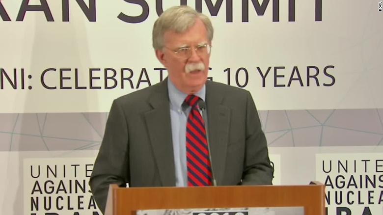 Bolton to Iran: Hell to pay if you cross us