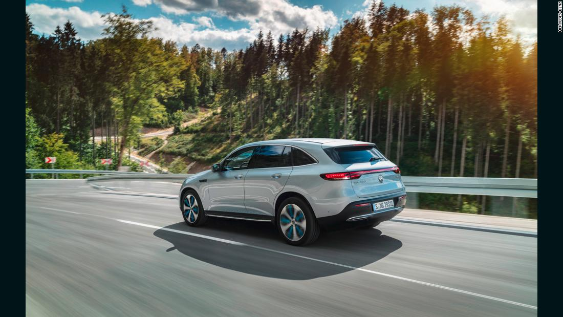 Mercedes-Benz reveals its first all-electric SUV