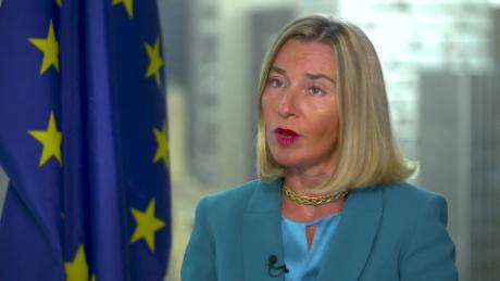 Mogherini: Is war the alternative to Iran diplomacy?
