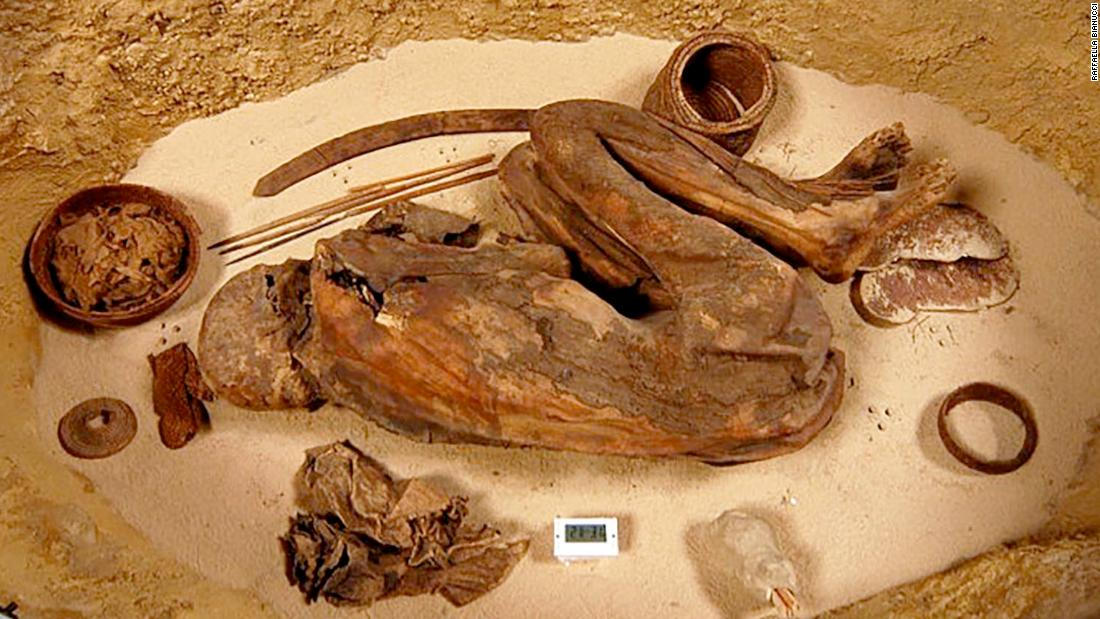 Prehistoric Egyptians mummified bodies 1,500 years before the pharaohs