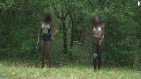 Not all the park's prostitutes have been trafficked, but police believe most of them have.