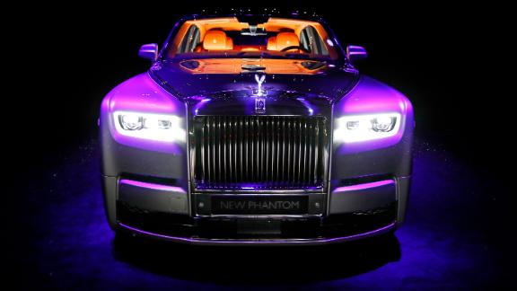 LONDON, ENGLAND - JULY 27:  The new Rolls-Royce Phantom is unveiled at the world premiere of the