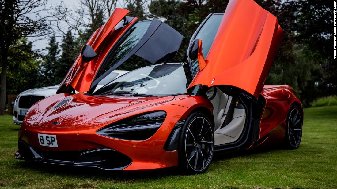 McLaren unveils $1.7 million supercar with no roof and a windshield made of air