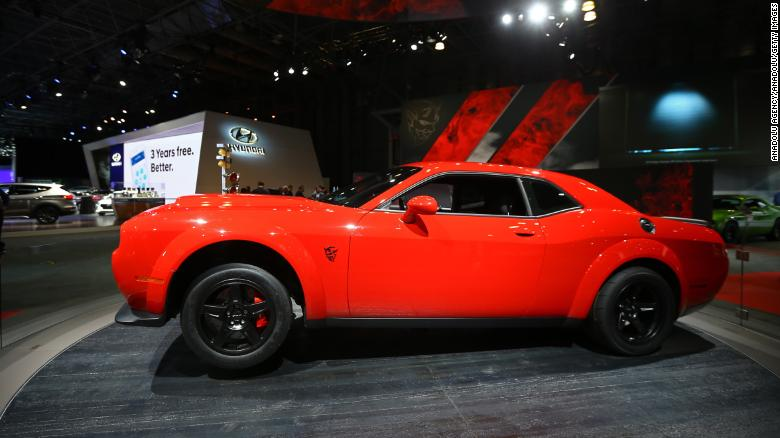 Dodge Demon Take Off In Most Powerful Muscle Car Ever Cnn Video