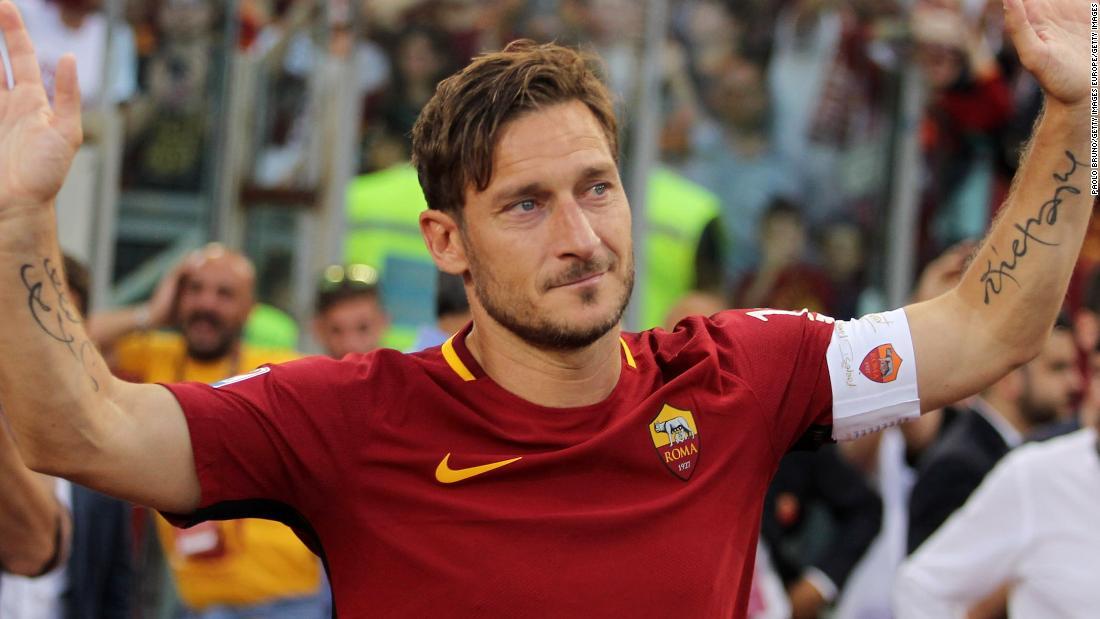 Francesco Totti: Fan asked to stay in jail to meet Roma great - CNN