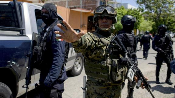 The Guerrero Coordination Group is overseeing the takeover of Acapulco's police.