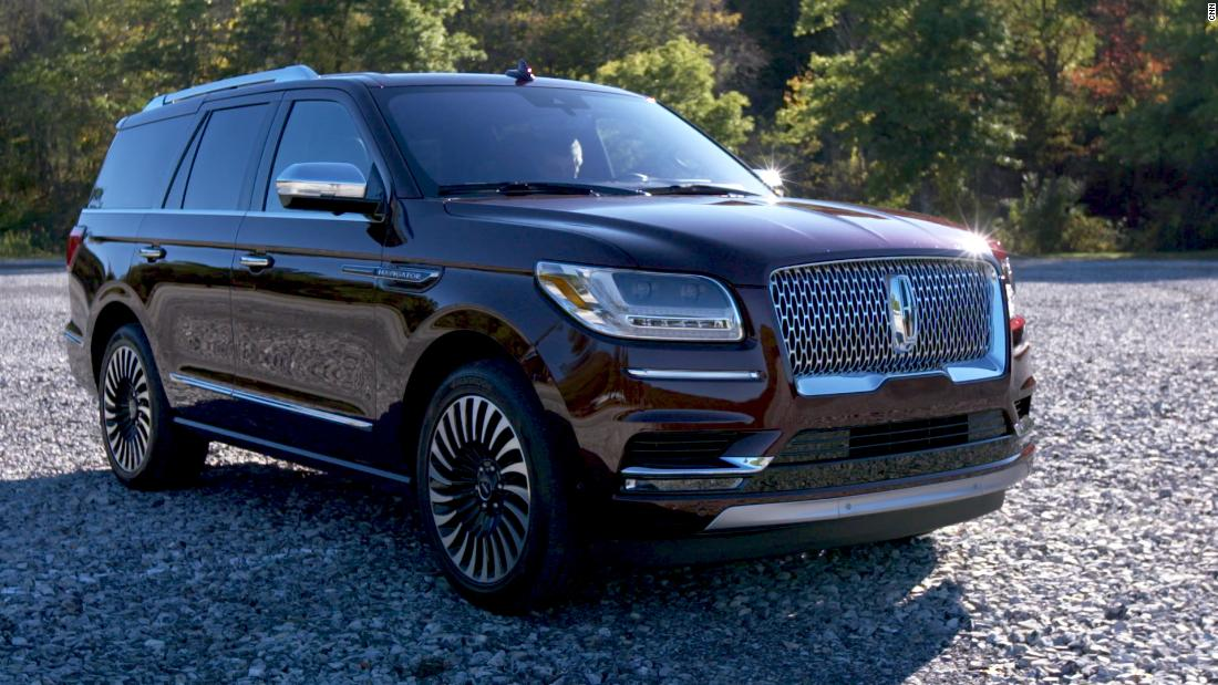 A '90s behemoth returns: Lincoln Navigator