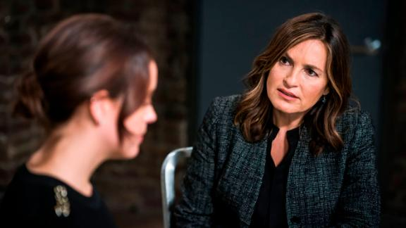 "LAW & ORDER: SPECIAL VICTIMS UNIT -- ""Intent"" Episode 1908 -- Pictured: Mariska Hargitay as Lieutenant Olivia Benson -- (Photo by: Michael Parmelee/NBC)"