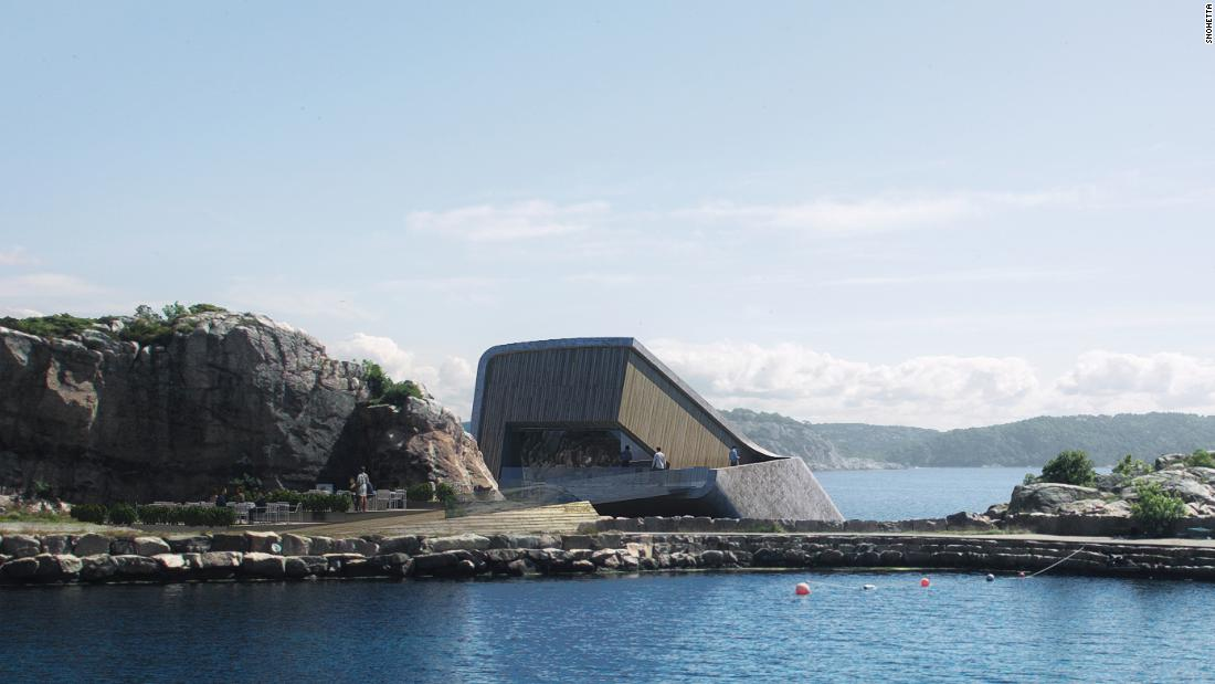 World's largest underwater restaurant nears completion