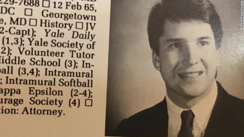 A look at Brett Kavanaugh's Yale years