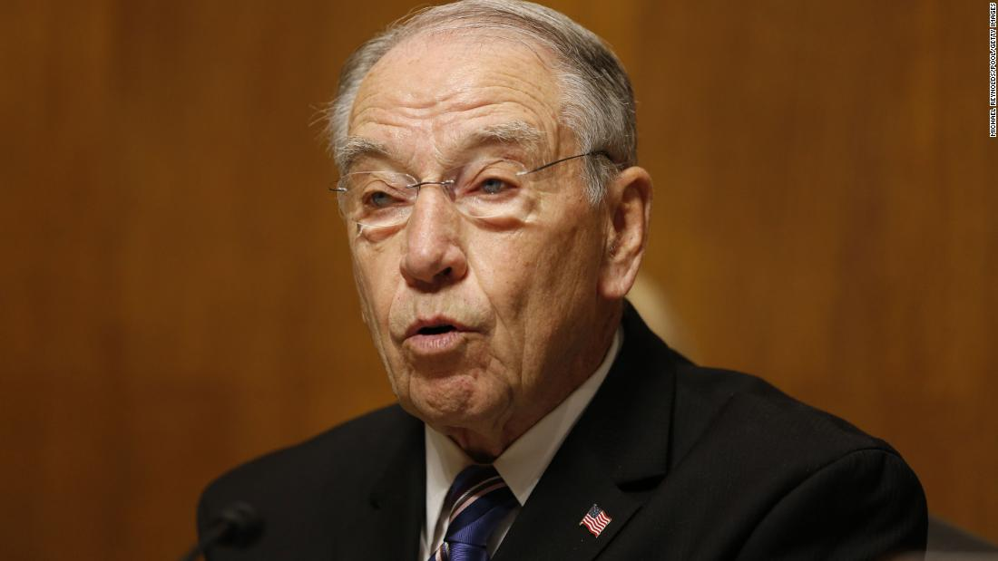 GOP Sen. Chuck Grassley of Iowa isolating after Covid exposure thumbnail