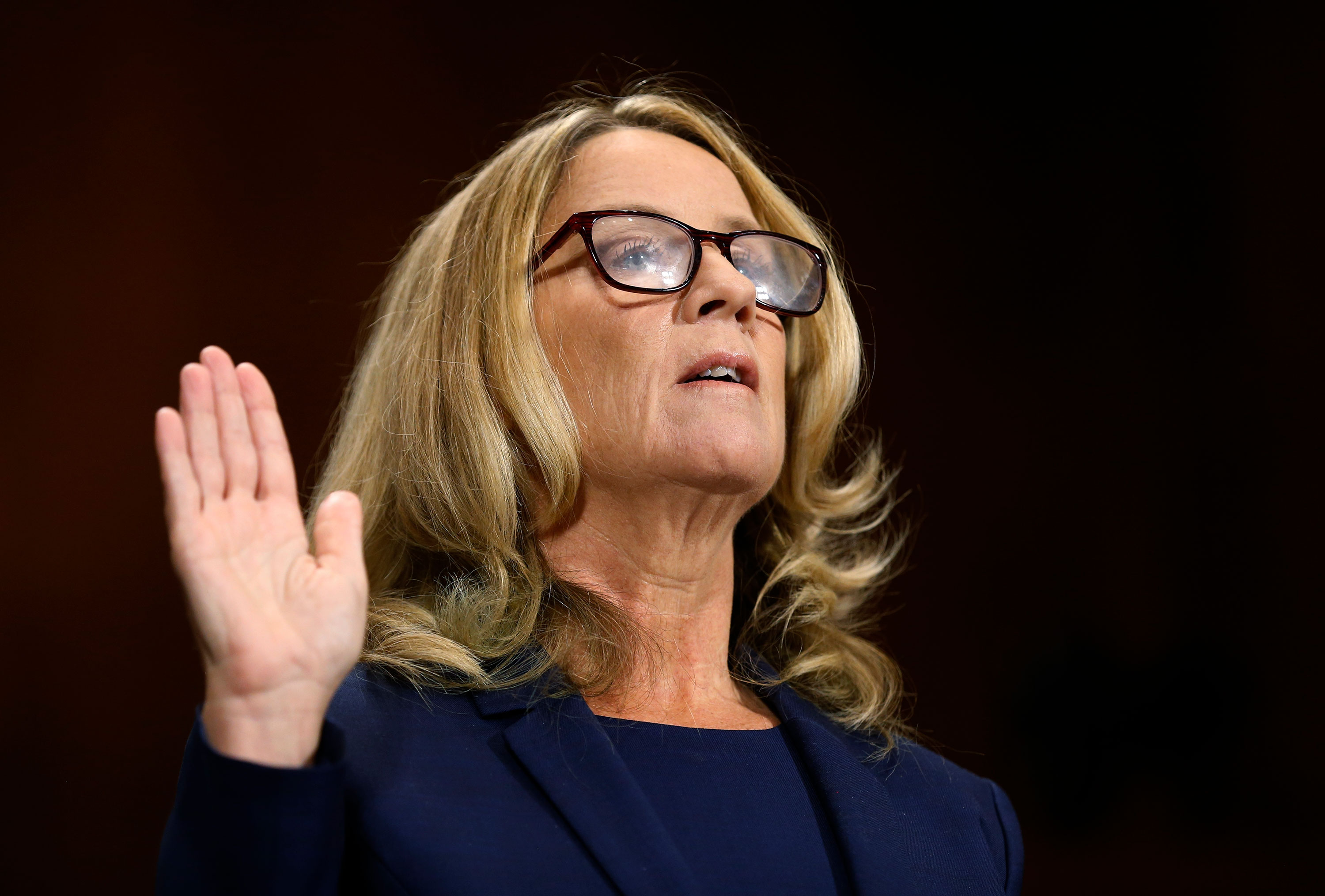 Watch Christine Blasey Fords Opening Statement Cnn Video Confirmation And Latest News In Senate Judiciary Committee