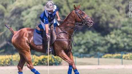 Neku Atawodi became Africa's first female professional polo player at age 21.