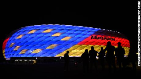The Allianz Arena will host the final of Euro 2024, the competition's 17th edition.