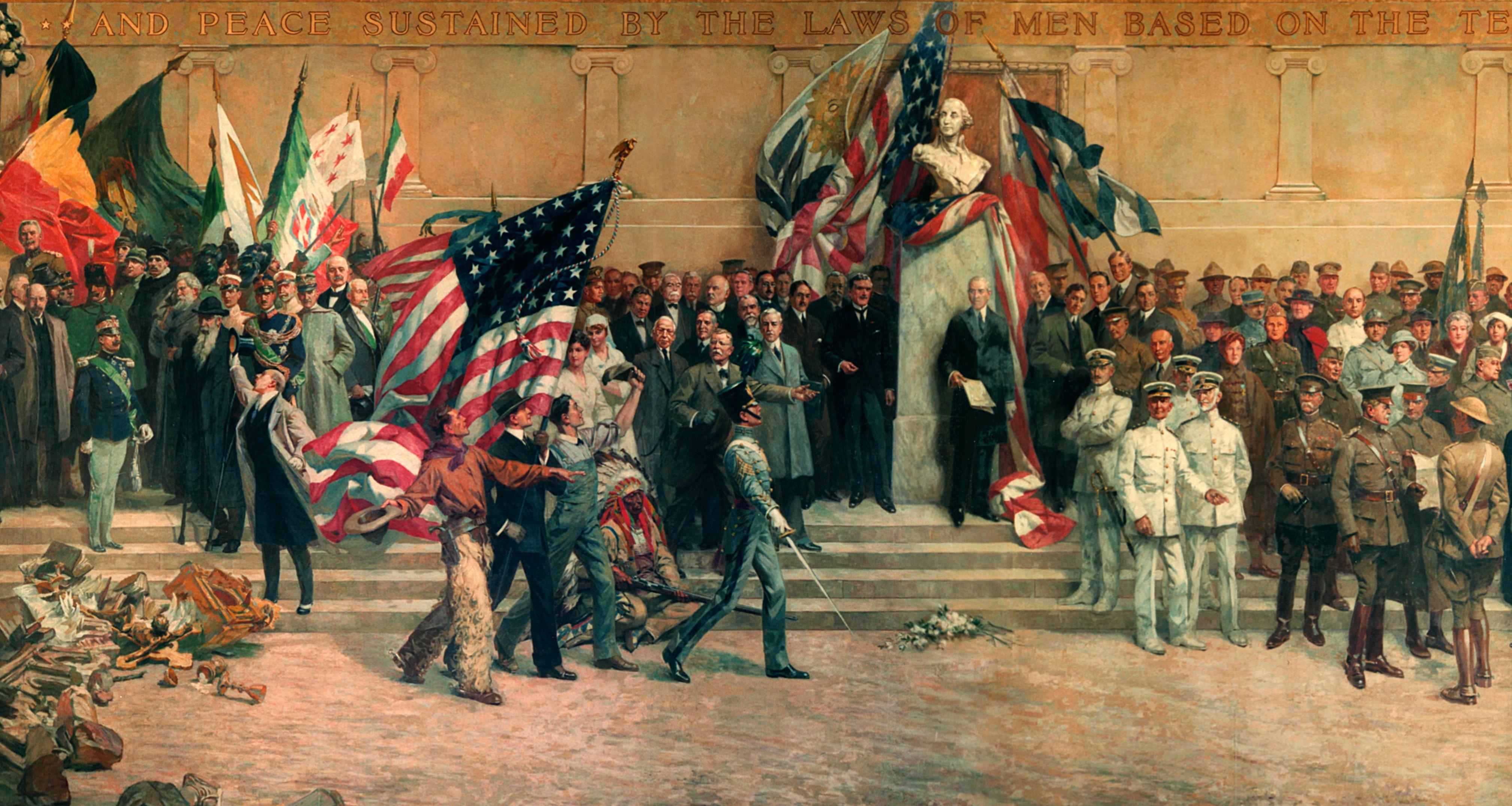 'Panthéon de la Guerre' at 100: The colossal war painting that time forgot