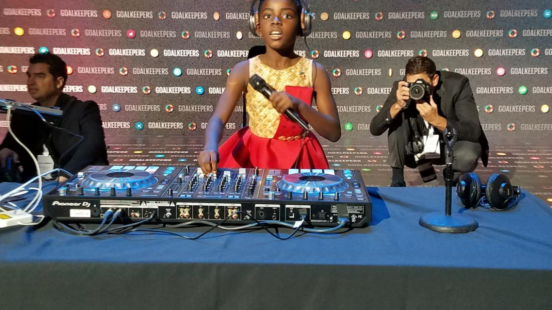 10-year-old Ghanaian DJ who is wowing world leaders