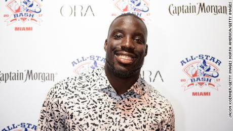 MIAMI BEACH, FL - JULY 09:  Vontae Davis at the 2017 All-Star Bash sponsored by Captain Morgan during MLB All-Star Week Miamion July 9, 2017 in Miami Beach, Florida.  (Photo by Jason Koerner/Getty Images)