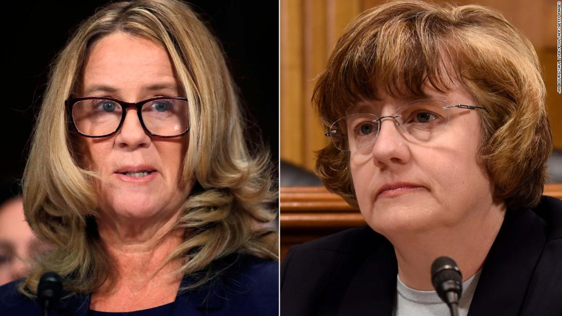 Outside counsel tells Republican senators 'reasonable prosecutor' would not bring Ford case against Kavanaugh