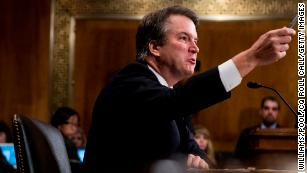 Partisanship questions threaten to shadow Kavanaugh on the court