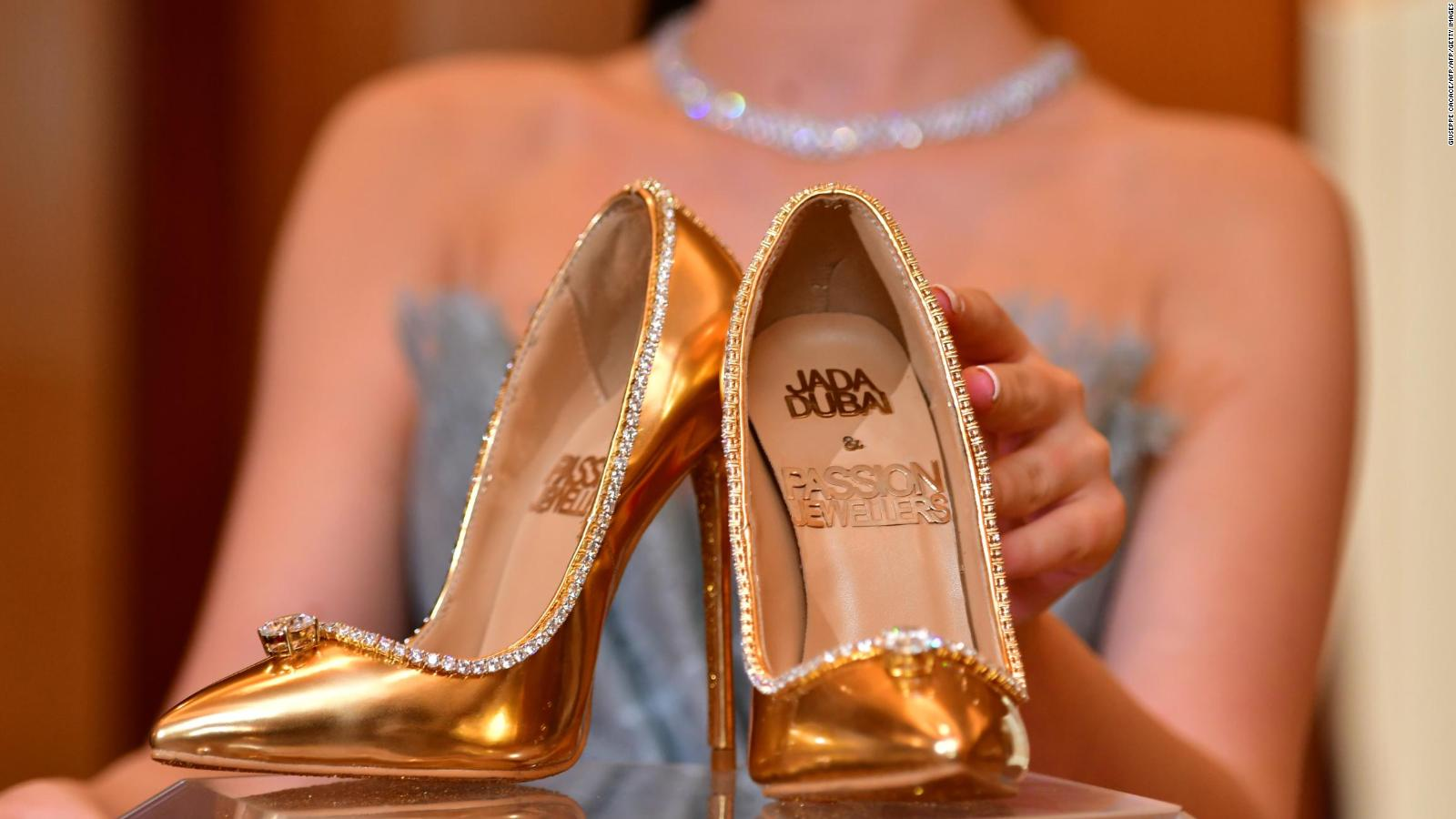 af9098a4333 These shoes cost  17 million - CNN Video