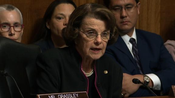 Sen. Dianne Feinstein Kavanaugh hearing