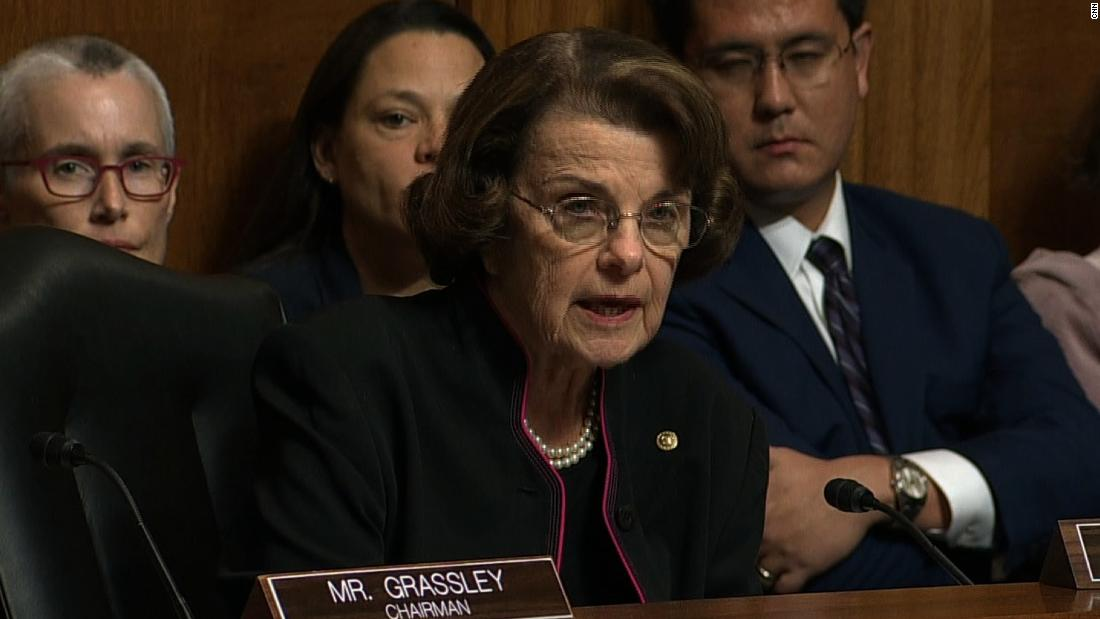 feinstein i did not hide ford s allegations cnn video feinstein i did not hide ford s allegations
